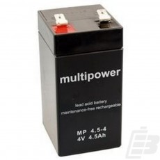 Multipower Lead Acid Battery 4V 4,5Ah