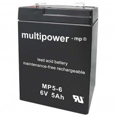 Multipower Lead Acid Battery 6V 5Ah