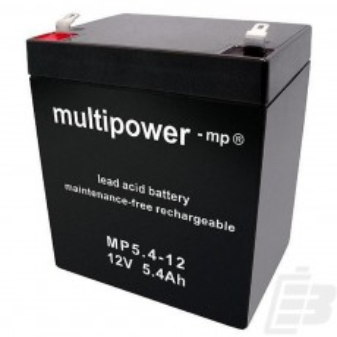 Multipower Lead Acid Battery 12V 5,4Ah