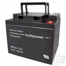 Multipower Lead Acid Battery 12V 50Ah
