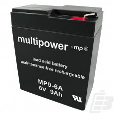 Multipower Lead Acid Battery 6V 9Ah