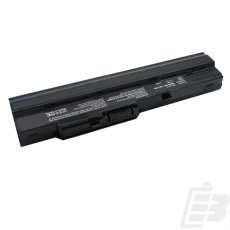 Netbook battery LG X110 extended black 4400mah_1