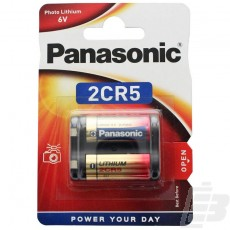 Panasonic Photo Power 2CR5 Lithium Battery