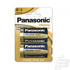 Panasonic Alkaline Power D Alkaline battery