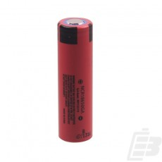Panasonic NCR 18650 battery 3500mAh 10A