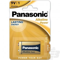 Panasonic Alkaline Power 9V Alkaline battery