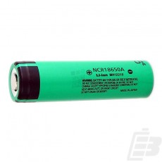 Panasonic NCR18650A battery 18650 3100mah 1