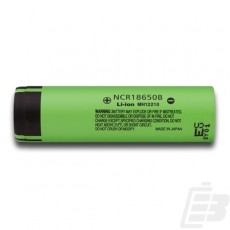 Panasonic NCR18650B battery 18650 3400mah 1
