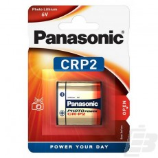 Panasonic Photo Power CR-P2 Lithium Battery