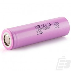 Samsung INR 18650 30Q battery 3000mah 15A 1