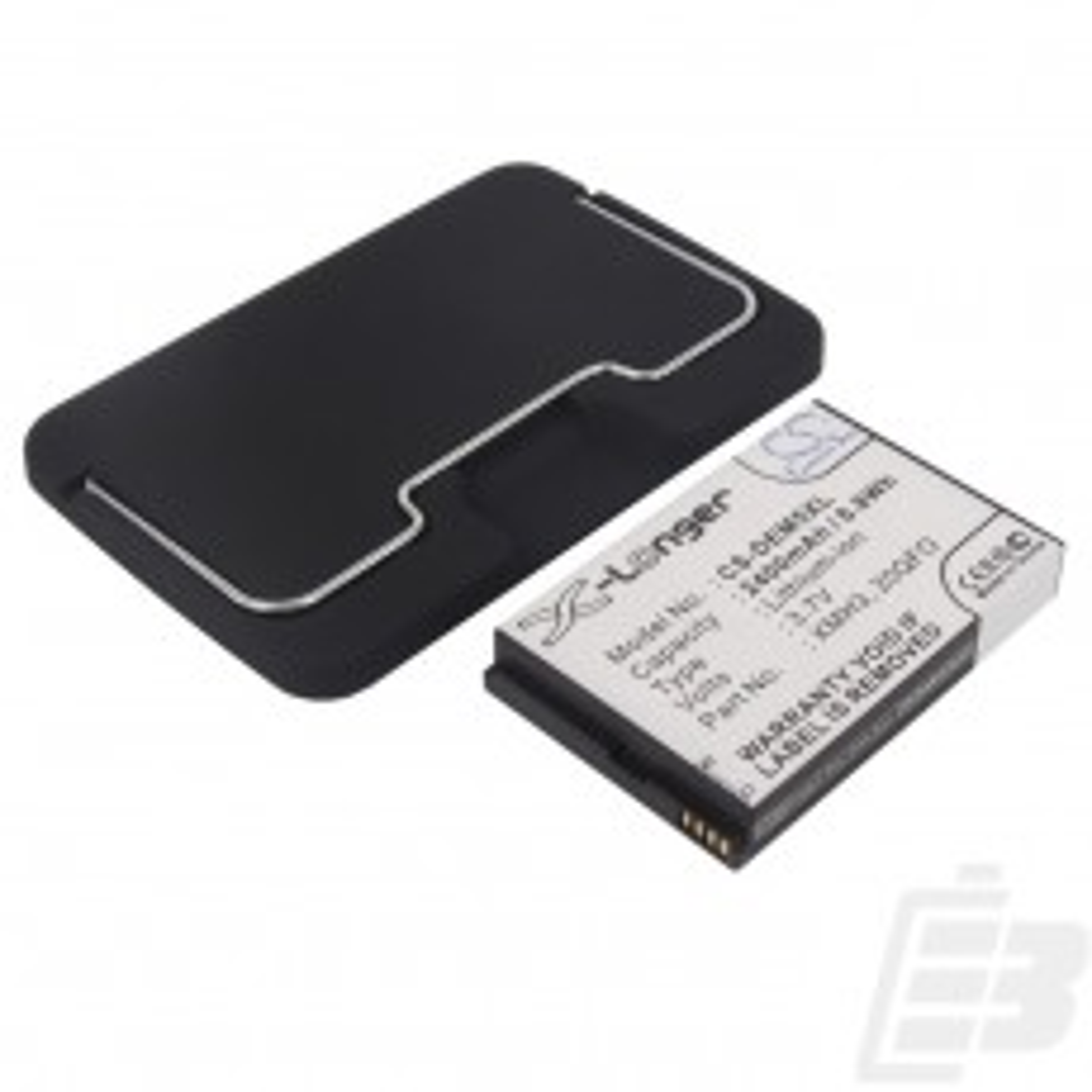 Smartphone battery Dell Streak Mini 5 extended_1