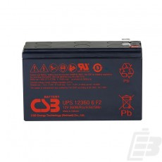 CSB Lead Acid Battery UPS123606 12V 6Ah