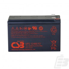 CSB Lead Acid Battery UPS12460 12V 8.5Ah
