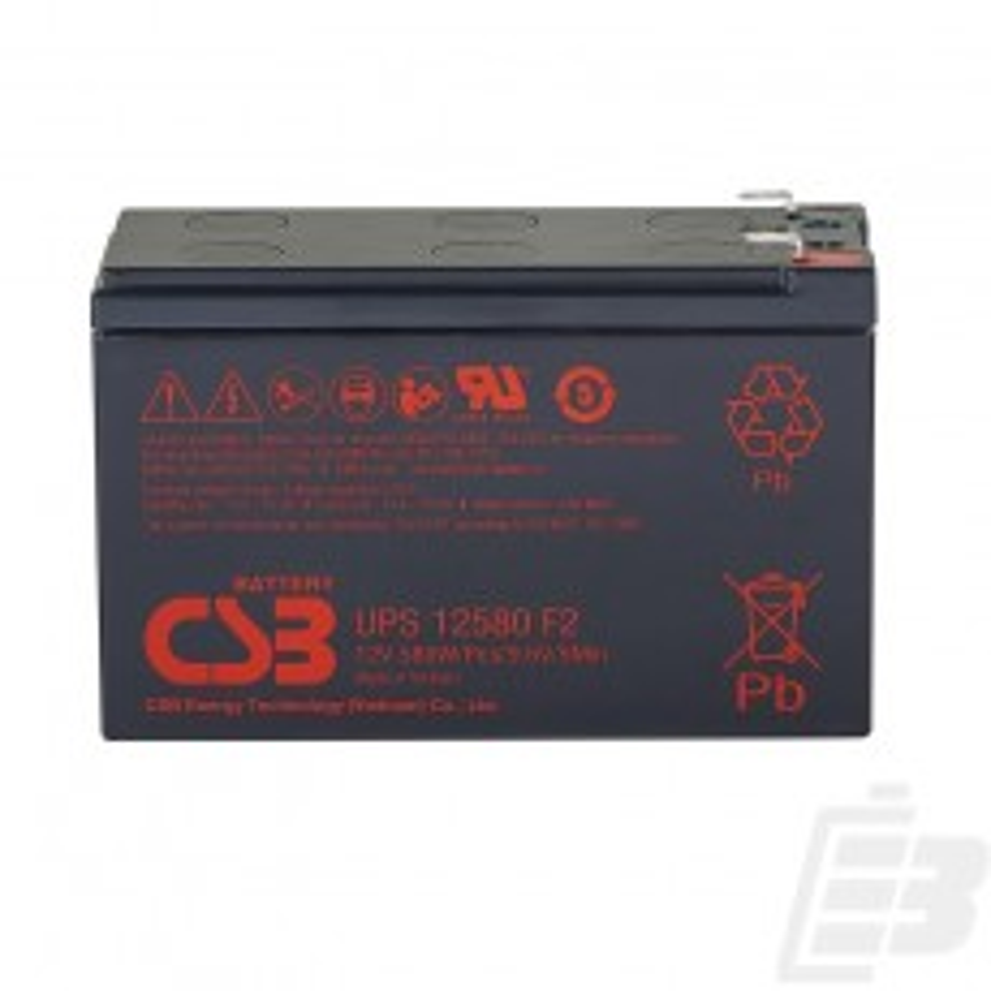 CSB Lead Acid Battery UPS12580 12V 9Ah