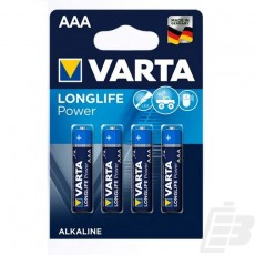 Varta LongLife Power AAA Alkaline LR03 battery
