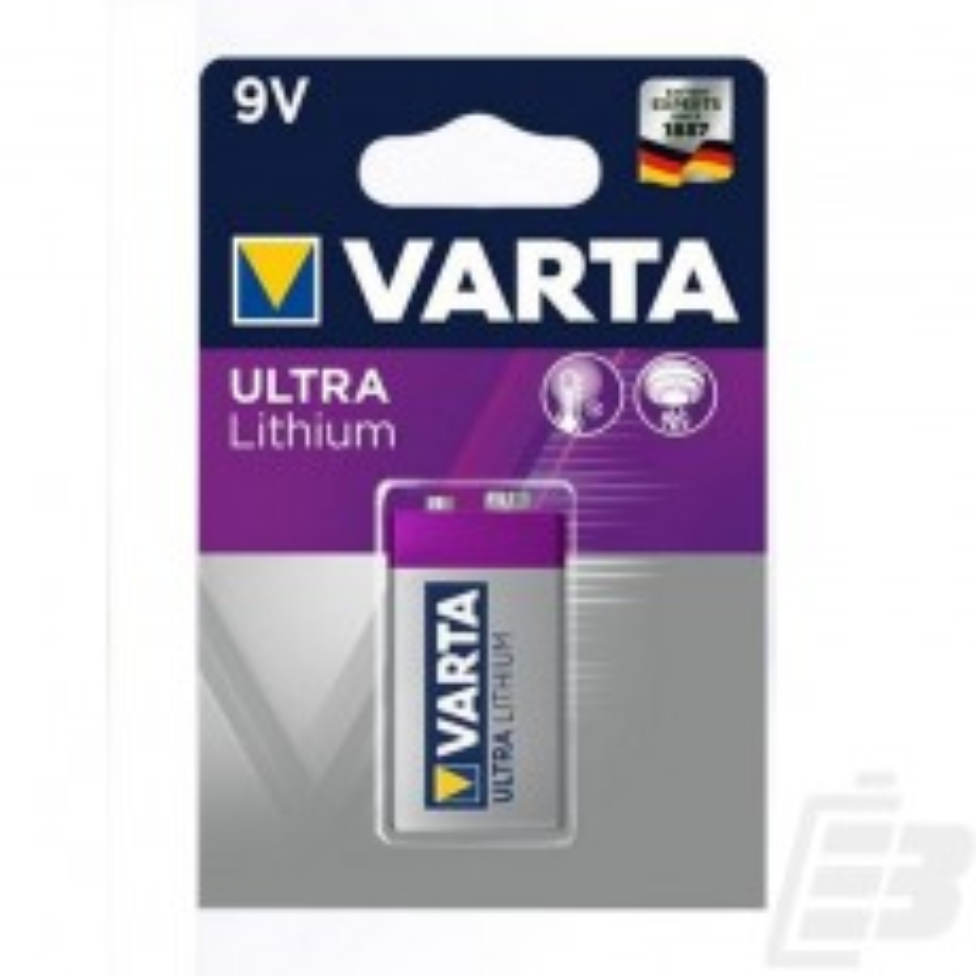 Varta Ultra Lithium 6122 9V battery