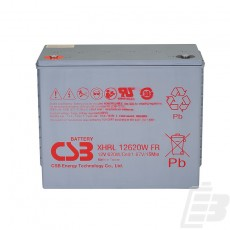 CSB Lead Acid Battery XHRL12620W 1