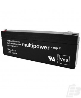 Multipower Lead Acid Battery 12V 2,2Ah
