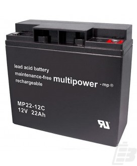 Multipower Lead Acid Battery 12V 22Ah