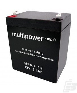 Multipower Lead Acid Battery 12V 5,4Ah