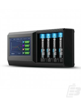 Efan S4 Touch Screen 4-bay battery charger