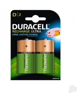 Duracell HR20 D PreCharged Battery 3000mah