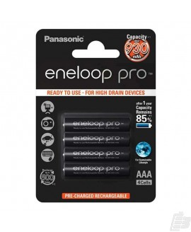 Eneloop Pro AAA PreCharged Battery 930mah