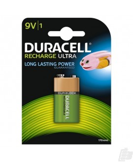 Duracell HR22 8,4V PreCharged Battery 170mah
