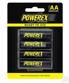 Powerex AA PreCharged battery 2600mAh