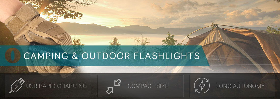 Camping and Outdoor LED Flashlights