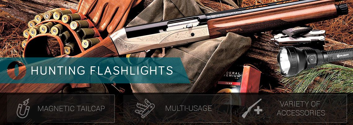 Hunting and Fishing Flashlights