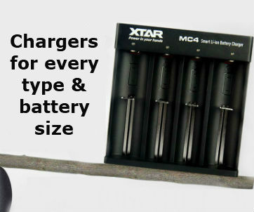 Chargers for every type & battery size