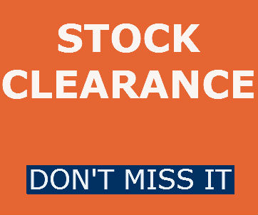 Special Offer & Stock Clearance