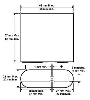 Duracell Industrial MN1203 D Alkaline battery 4.5V