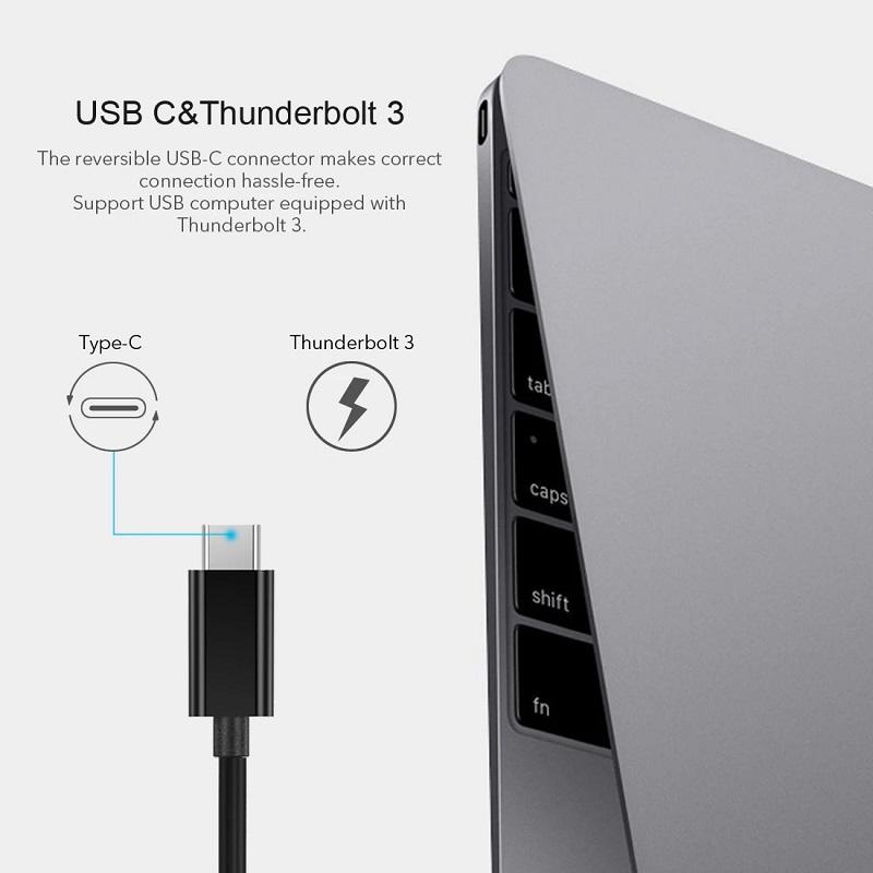 Choetech HUB-R01 USB c to Ethernet adapter