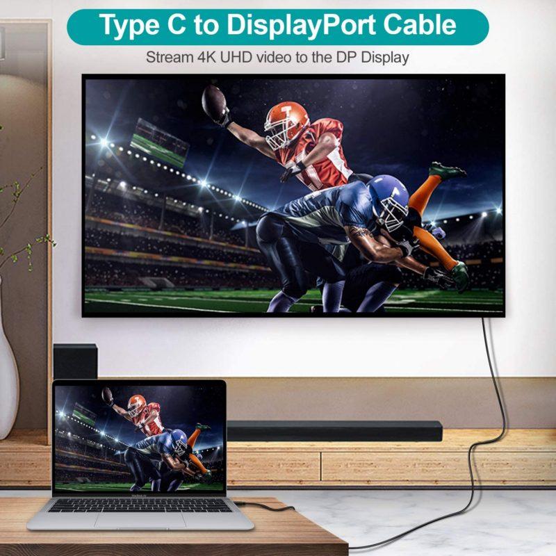 Choetech XCP-1801 4K C to Display Port