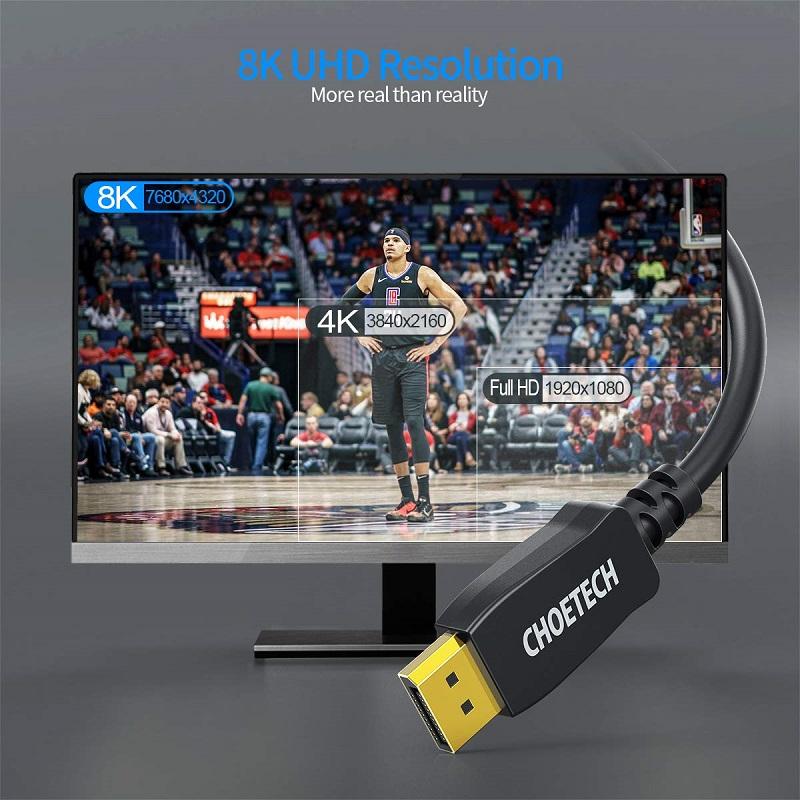 Choetech XDD01 8K Display Port