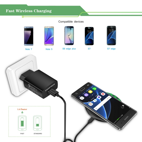 Choetech T518 Wireless Charging Pad