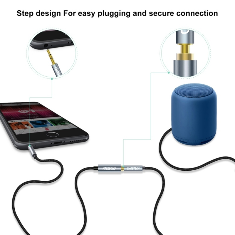 Cheoetech AUX001 3.5mm audio extension cable