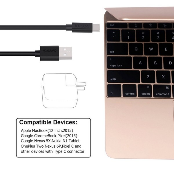 Hi-Speed USB-C to USB-A Cable