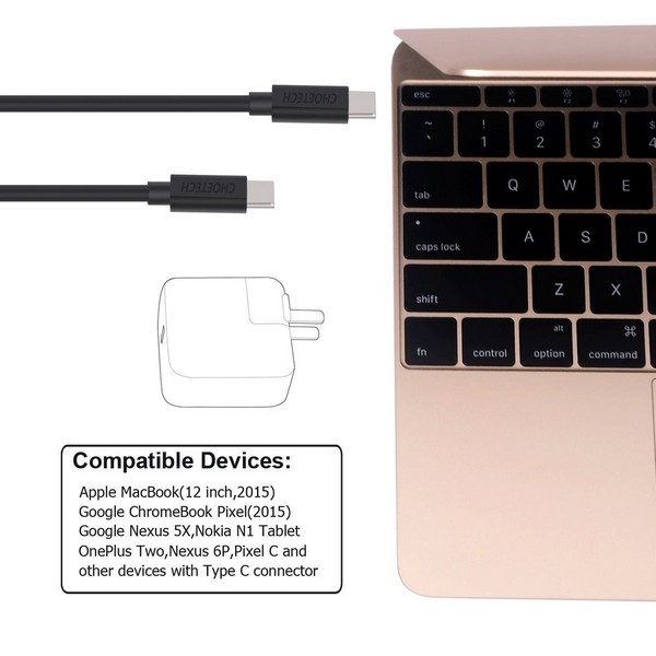 Choetech USB-C to USB-C Cable