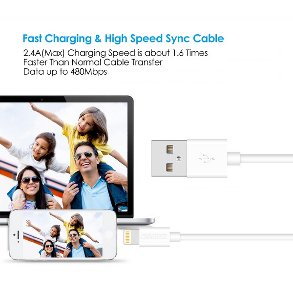 Choetech Lightning to USB Cable