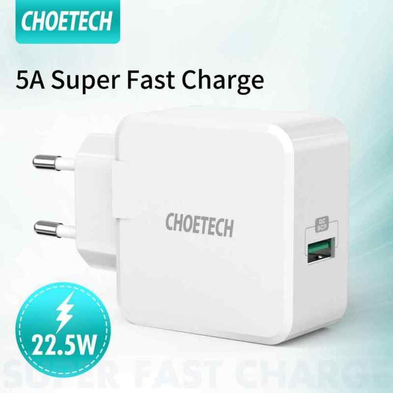 Choetech Q5001 5A Super Fast Charger