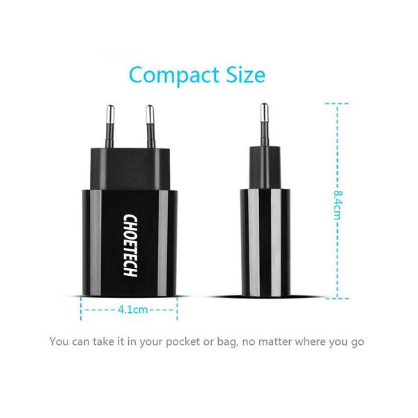Cheoetech SMT008 wall adapter 2.4A
