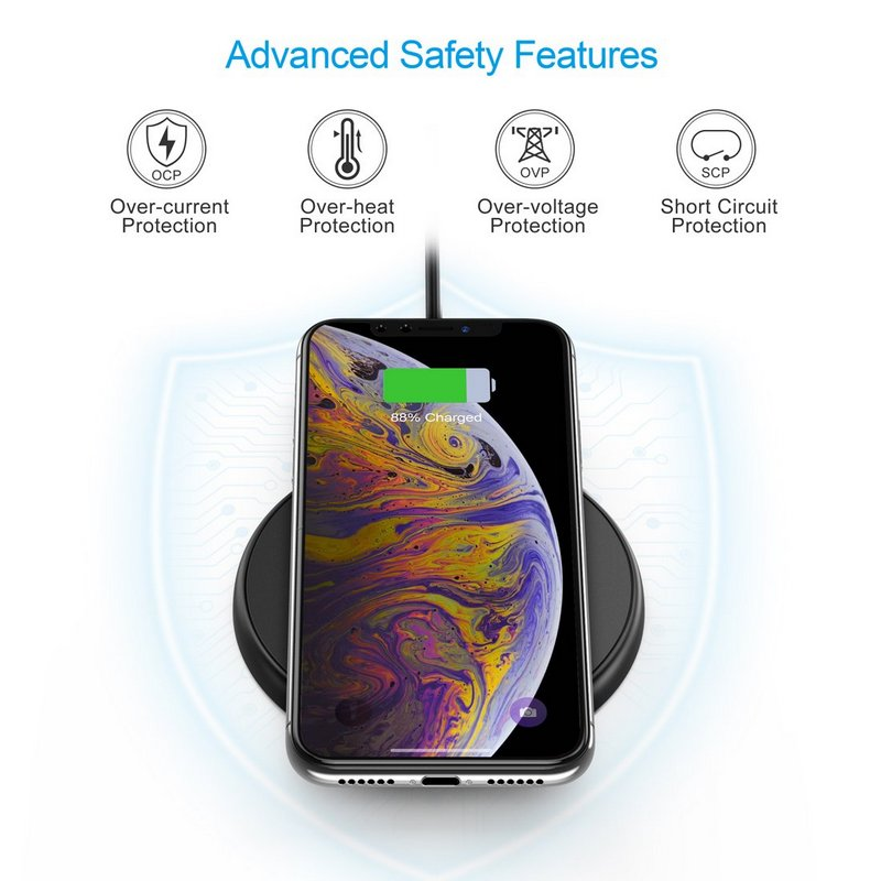 Choetech T526-S Fast Wireless Charging Pad