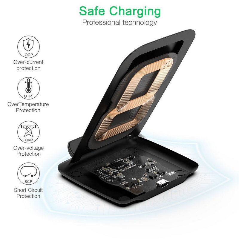 Choetech T555-S Wireless Charger 7.5W