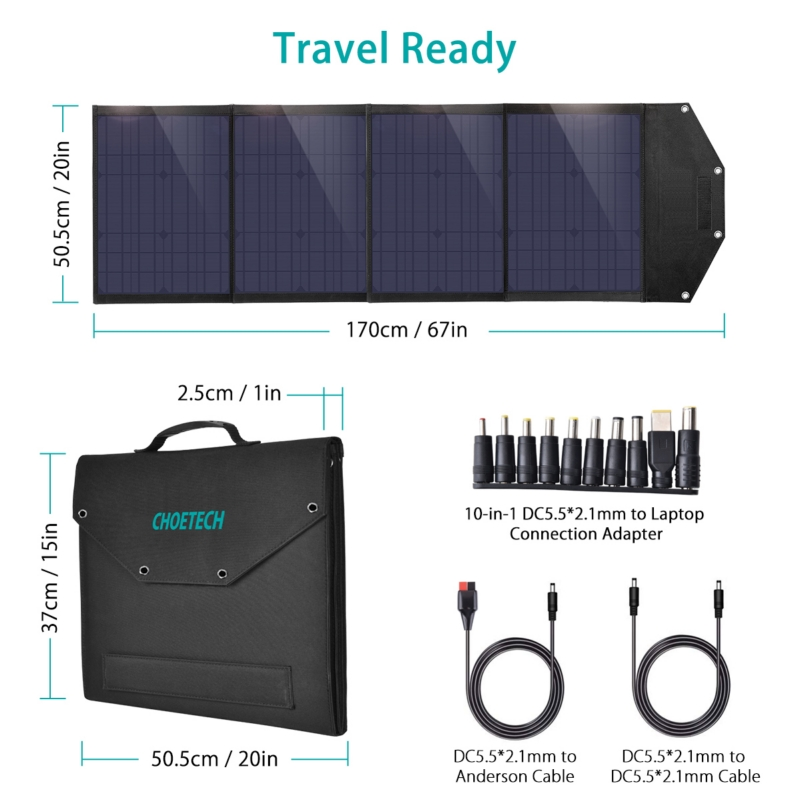 Choetech SC009 100W solar Panel