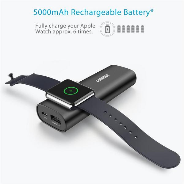 Choetech T315 Apple Watch Powerbank 5000mah