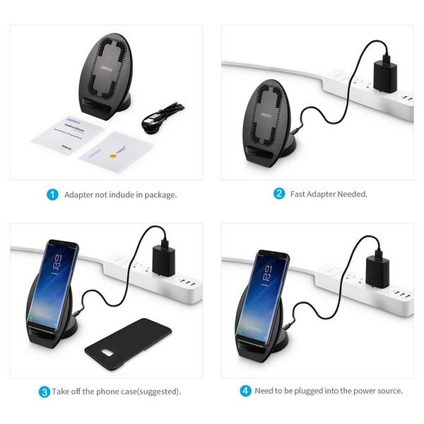 Choetech T522-s QI Fast Wireless Charger Stand