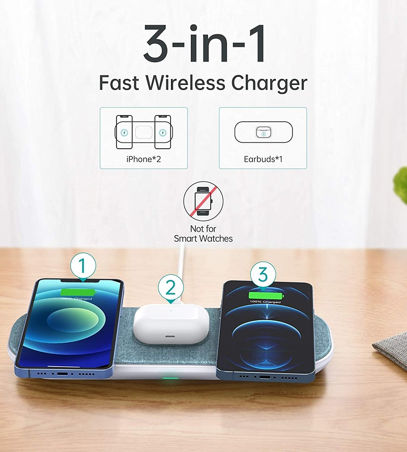 Choetech T569S 3in1 wireless charger